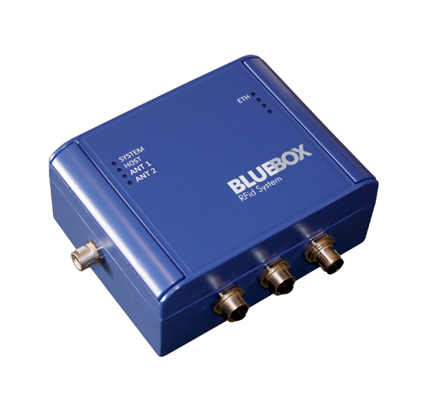 bluebox advant controller with antenna